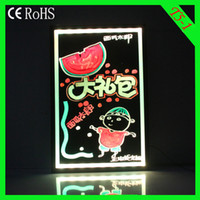 Wholesale Flashing led writing board T5 cm advertising LED DISPLAY led Message board