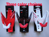Wholesale NEW colors for choice Mountain Road Bike Cycling Bicycle MTB Glass Fibre Water Bottle Holder Cage