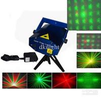 Wholesale 2PCS Laser DJ lighting light For Club Stage Party Disco amp mini butterfly pattern laser light