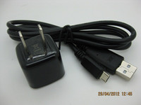 Wholesale For BlackBerry Home Wall Charger Adapter Micro USB US Wall Charger