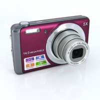 Wholesale Free dropshipping Mega Pixels quot LCD Panel Optical Zoom Digital Camera DC T500 History Reviews