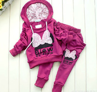 Girl baby girl clothes lot winter - 4sets colors kids sport wear Baby Clothing Set girls sport suit Baby Clothes Baby Garment Sport