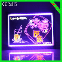 Wholesale 24 flashing led writing board D1 cm LED SIGN advertising led Message board
