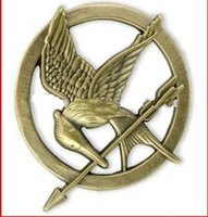 Wholesale 20 off NEW products of The Hunger Games pin Movie Mockingjay Pin Brooch Unisex Breastpin