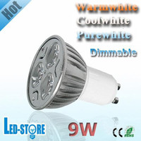 Wholesale High Power Dimmable CREE LED Bulb GU10 E27 MR16 X3W W V V LED Light LED Bulb Lamp LED Spotlight lighting bulbs