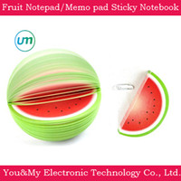 Wholesale Novelty Items Fruit Notepad Memo pad Note paper Sticky notes of Pear Apple