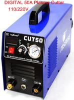 Wholesale NEW Portable Amp Blue Digital Plasma Cutter Dual Voltage V CUT50