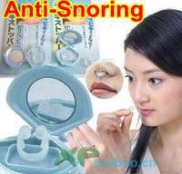 Wholesale Anti Snoring Anti Snore Free Nose Snoring Stop Stopper Sleeping aid Device clip HB920