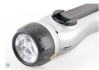 Wholesale 2012 NEW Wind Up LED Flashlight with Cell Phone Charger Alarm and Radio from egomall H914