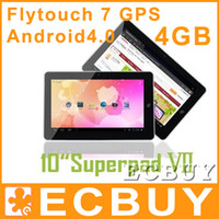 10 inch flytouch tablet - 10 inch Allwinner A10 GPS Flytouch tablet pc