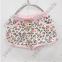 Wholesale 2012 Girl Spring Pink Leopard shorts cheetah Leggings Skinny Pants Cotton Girls Pants P