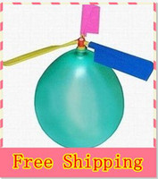 Wholesale new balloon helicopter flying balloon toy