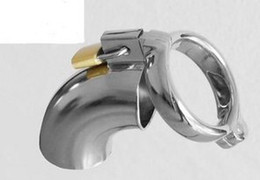 Wholesale Cock cage male chastity device stainless steel edition durable metal faucet design for male device