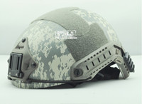 Wholesale FMA Ops Core Helmet Acu Helmet Sports Helmet can connected headlights