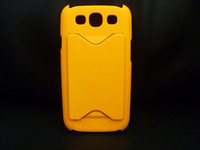 Yes Plastic For Samsung 6color Credit ID Card Rubber Plastic PC Hard Case Cover for i9300 SIII S III S3 S 3 10PCS & 20PCS