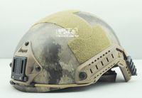 Wholesale FMA Ops core Helmet A Tacs Helmet Sports Helmet can connected headlights