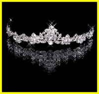 accessories photos - Charming In Stock Real Photos Crystal Bridal Tiaras Hair Powder Wedding Jewelry Accessory
