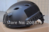 Wholesale EMERSON OPS CORE FAST Base Jump Military Helmet Sports Helmet can connected headlights camera BL