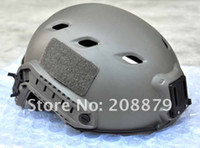 Wholesale EMERSON OPS CORE FAST Base Jump Military Helmet Sports Helmet can connected headlights camera LG