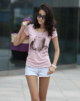 2012 New Style Womens Short Sleeve Classic- Fit T- shirts Lady...