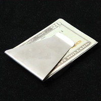 Wholesale Slim Double Sided Money Clip Holder Wallet