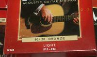 acoustic string gauges - 10 sets Acoustic Guitar Strings Light Gauge