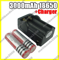 Wholesale I30 New UltraFire mAh Rechargeable Li ion Battery Batteries US Charger