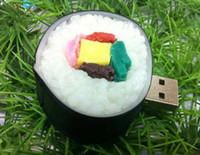 Wholesale Genuine gb gb gb sushi USB Flash Memory USB Flash Drive USB disk