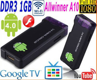Wholesale Mini MK802 Google TV Box Android Allwinner A10 GHz Cortex A8 WiFi P HD IPTV PC Player DDR3