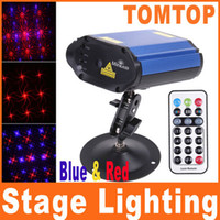Wholesale Professional Mini Projector Voice control DJ Laser Stage light Lighting for Club Disco Party R amp B Light H8103