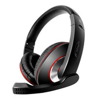 Wholesale KT MV Stereo Headphone wearing headset super bass computer PC headphone with control talk