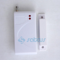 alarm system contacts - 20pcs DHL To EU Door window Gap Magnetic Sensor for GSM PSTN Alarm System Security Accessories