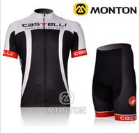 Wholesale 2012 CASTELLI Cervelo White amp Black Short Sleeve Cycling Jersey Bicycle Wear Short Size XS XL C23