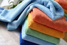 Wholesale 70X150cm Large Microfiber Bath Sheet Beach Towel Microfibre Towels Absorbent Travel Dry Cloth