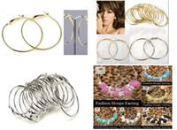 Wholesale Stock low cost sale pairs Basketball Wives Big Hoops Earrings