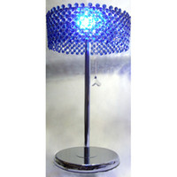 Wholesale Desk lamp Blue crystal