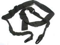 Wholesale Double Point Sling Hunting Sling Shooting Rifle Carry Belt Green Black Sand