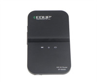 Wholesale New Portable Mbps G Router MiFi GSM EDGE HSPA SIM Slot D2120A