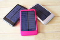 Wholesale 5000mah Solar Charger Solar Panel Battery Charger USB for iPhone iPad Digital camera PDA PSP GPS