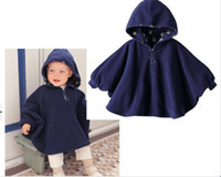 Wholesale Winter Baby Coats Baby Clothing Babys Dress Smock Babys Wrap Baby s Ourterwear Cloak Cape Wear