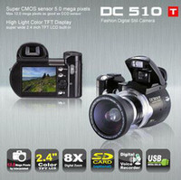 Wholesale DC510T MP voiced video camera with wide angle lens with all accessoriess