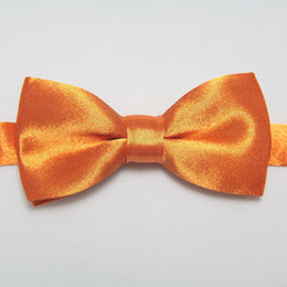 Wholesale baby bow tie knots necktie Children s Ties solid color ties boys ties bowtie colors