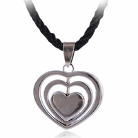 Wholesale cool men alloy pendant love pandent fit necklace fashion man jewelry silver Love pendant