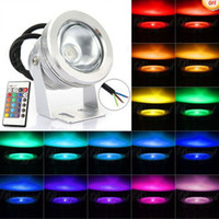 Wholesale New Waterproof W RGB Color Changing Outdoor Remote Control LED Flood Light V