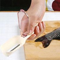 Wholesale 100 Fashion Fish Scale Remover Slicer Kitchen Tool Helper