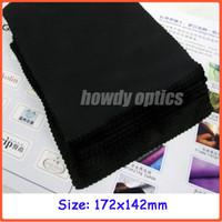cloth microfiber cleaning cloth - 172x142mm neddle black microfiber cleaning cloth glasses cleaning cloth lens cloth