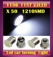 Wholesale 50 X SMD led auto Car Turn signal light tail light parking Light white