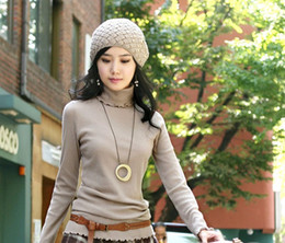 Free shipping!! Women's Turtleneck Computer Knitted Pullovers knitted sweaters