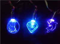 Wholesale hot sales fashion children gifts LED glow necklace personalized necklace