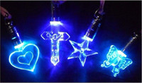Wholesale Fashion Necklace Luminous necklace LED Flash Necklace Pendant a magnetic toy